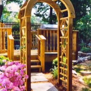 Arbor and Deck